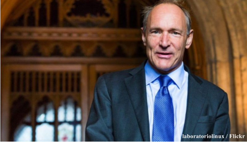 Tim Berners-Lee, o inventor da World Wide Web